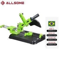 allsome angle grinder support angle grinder holder woodworking tool diy cut stand for angle grinder power tools accessories