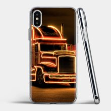 Road Train Truck Wallpaper For Samsung Galaxy J1 J2 J3 J4 J5 J6 J7 J8 Plus 2018 Prime 2015 2016 2017 Silicone Phone Shell Case