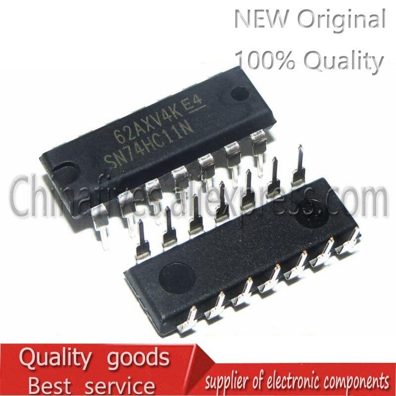 10 unidades/lote, nuevo, original, SN74HC11N DIP-14 74HC11 74HC11N