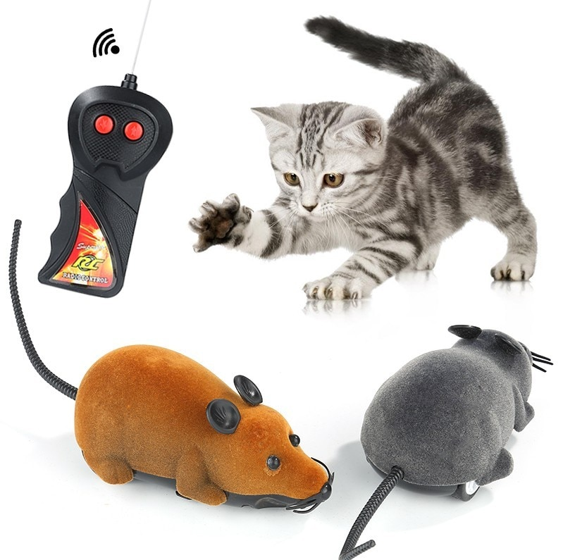 Electronic Remote Control Rat Mouse Toys  Funny Cute WirelessKitten Novelty Funny Pet Supplies Pets