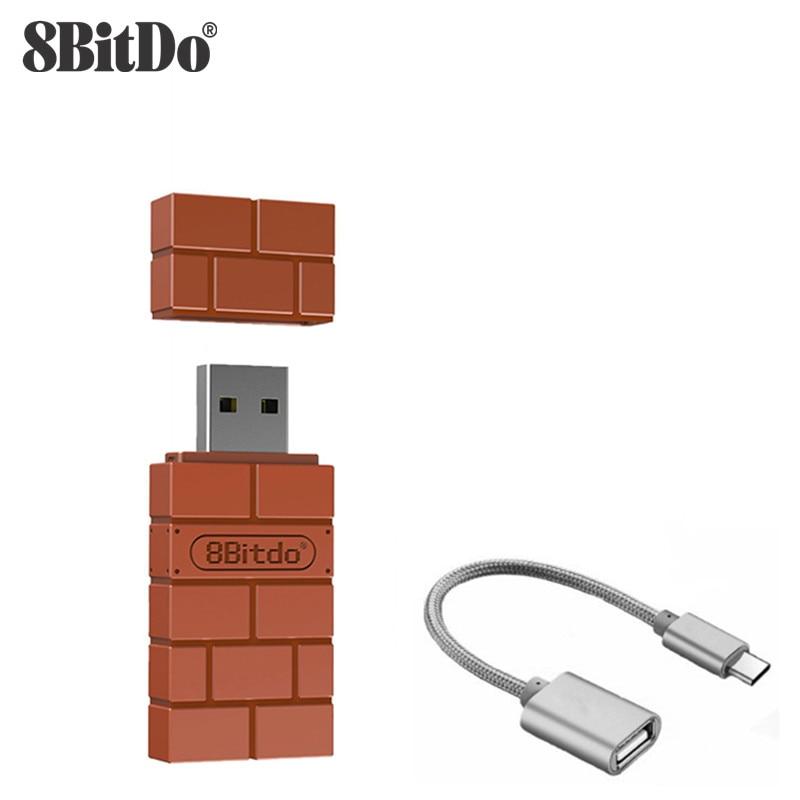 8-битдо USB беспроводной Bluetooth адаптер для Windows Mac Raspberry Pi Nintendo переключатель поддержка PS3 Xbox one контроллер для переключения