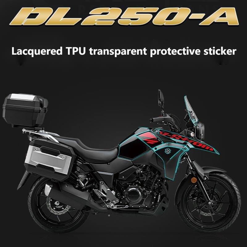دراجة نارية الطلاء بولي Tpu شفافة طبقة رقيقة واقية غير مرئية سيارة الملابس خدش إصلاح مقاوم للماء لسوزوكي Dl250