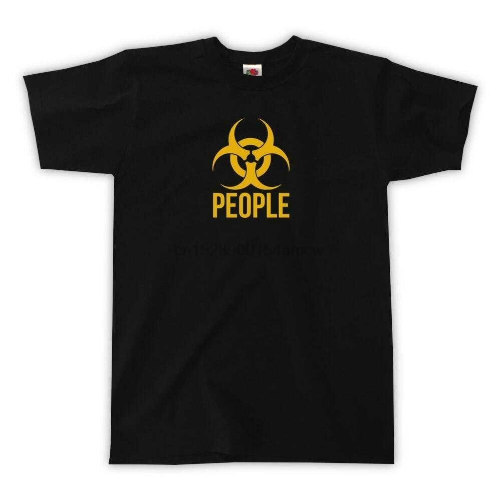 La gente es el venado camiseta-UNISEX-TUMBLR BIOHAZARD tóxico camiseta