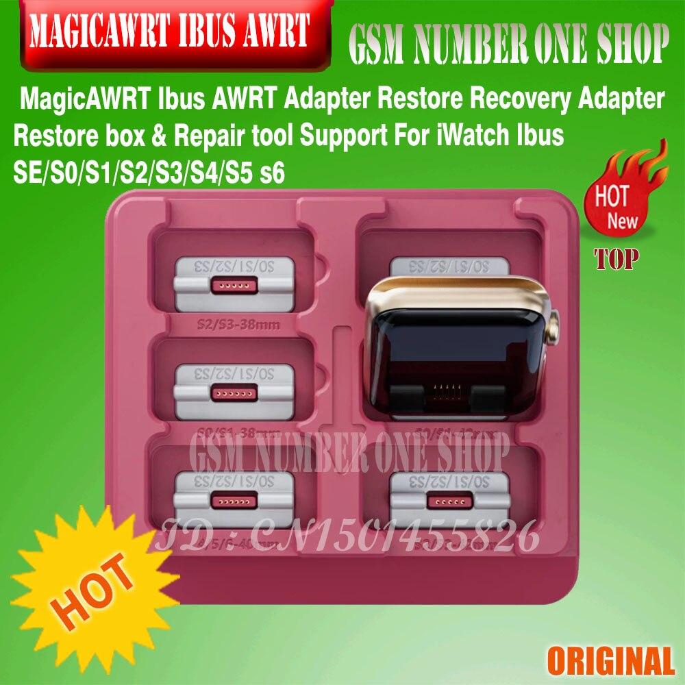 MagicAWRT Ibus AWRT محول استعادة استعادة محول استعادة صندوق وإصلاح أداة دعم ل iWatch Ibus SE/S0/S1/S2/S3/S4/S5 s6