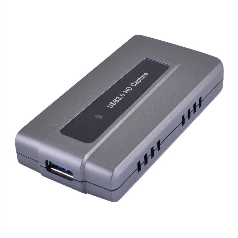 Jogo de Captura de Vídeo Ao Vivo Streaming de Gravação USB 3.0 HD 1080p 60fps Suporte OBS Estúdio Windows Mac Linux