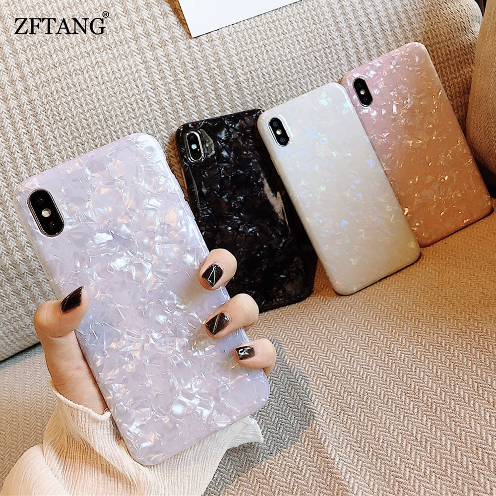 Glossy Marble Case For Samsung Galaxy Note 20 10 Plus S8 S9 S10 S21 S20 FE Plus S7 Edge S20 Ultra Co