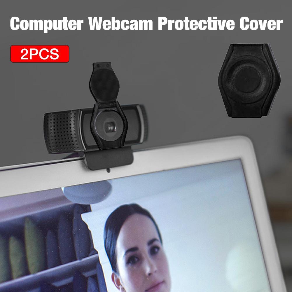 2 шт. Защитная крышка для затвора веб-камеры Защитная крышка Пылезащитная Крышка для веб-камеры Logitech HD Pro веб-камера C920 C922 C930e