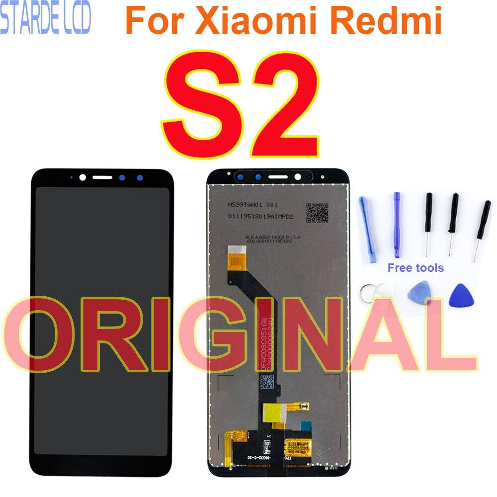 """5.99 """"Original LCD Display Für Xiaomi Redmi S2 Touchscreen Digitizer Montage Mit Rahmen Ersatz Reparatur Teile Dropshipping"""