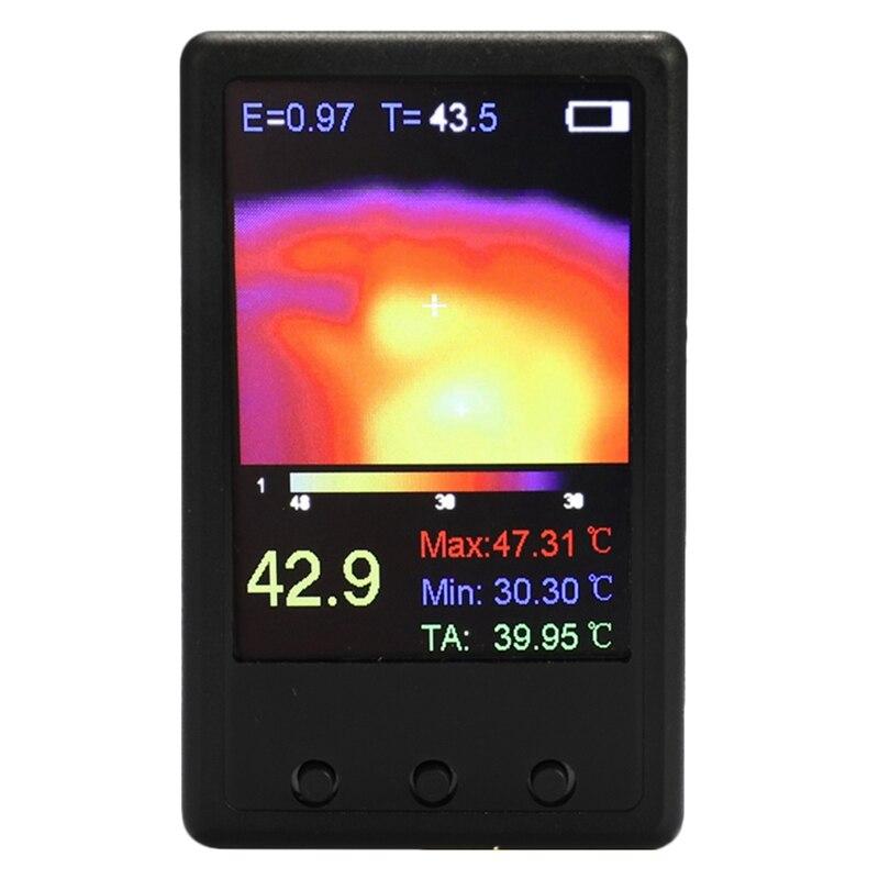 Sensor de temperatura infrarrojo de cámara termográfica Digital portátil de 2,4 pulgadas-40 °C-300 °C