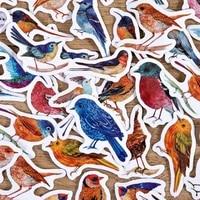46pcsset birds sticker diy scrapbooking diary planner decoration sticker album