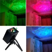 rgb starry sky dj projector car laser music watermark night lamps led voice control disco stroboscope for home ktv party light