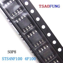5Pieces STS4NF100 4F100 SOP8 Integrated Circuits Electronic Components