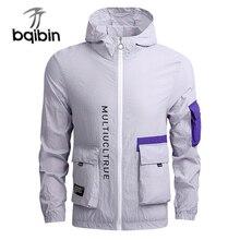 Jacket Men Windbreaker 2021 Spring Autumn Fashion Jacket Men's Hooded Casual Jackets Male Coat Thin