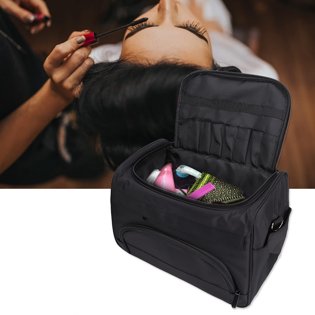 professional salon hair tool bag zebra hairdressing bag portable carry case tool case for hair styling tools storage clipper box New Hairdresser Tools Bag Large Capacity Hair Clipper Hair Styling Accessories Storage Bag Salon Carrying Organizer Case Handbag