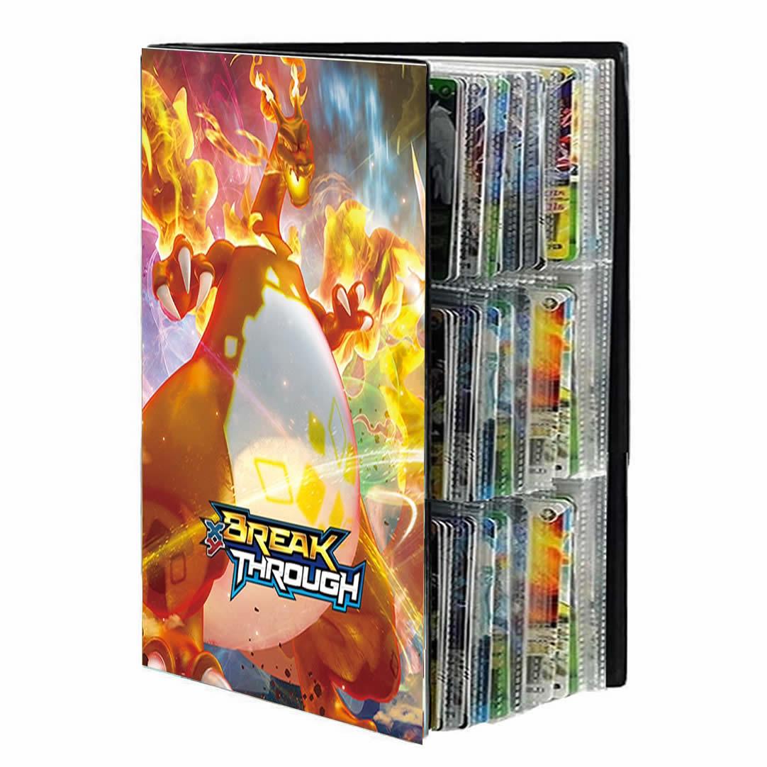 Cartoon 9 Pocket 432 Card Pokemon Album Book Anime Map Game Pokémon cards Collection Holder Binder