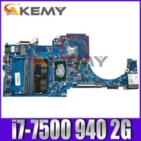 akemy new for hp 15 cc 15t cc motherboard 927268 601 927268 501 927268 001 dag71mb16d0 sr341 i7 7500 940 2g working well