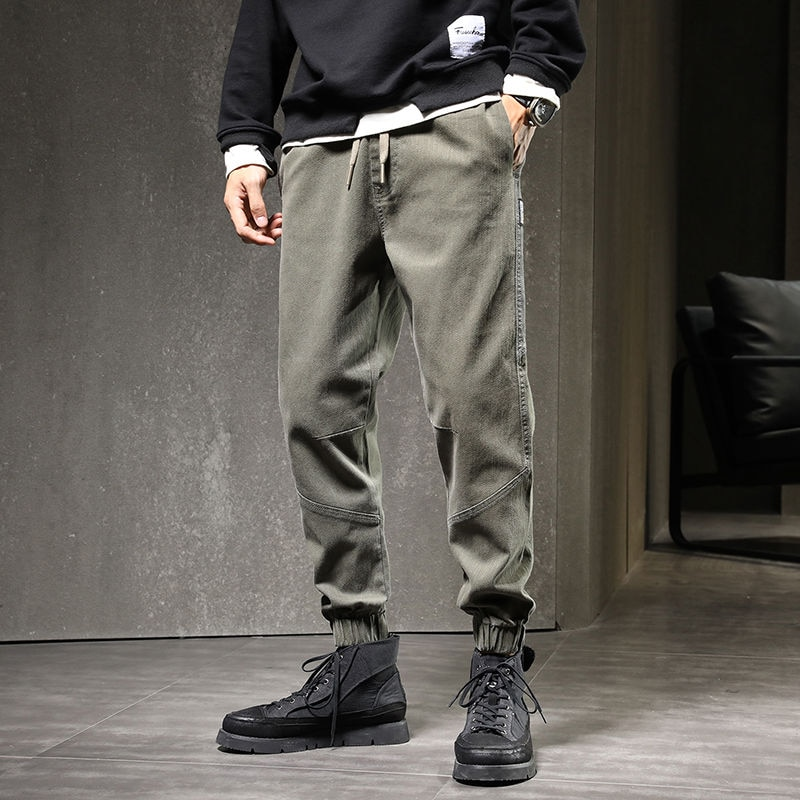 Jeans Men Men's Fashion Brand Loose Work Clothes Black Casual Plus Size Men's Trousers Pants Denim Hot Sale