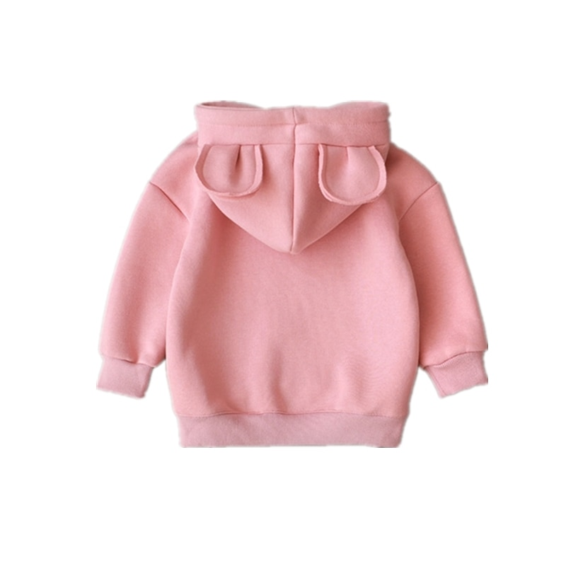 New Spring Autumn Baby Boys Girls Clothes Cotton Hooded Sweatshirt Children Fashion Hoodies Kids Casual Infant Cartoon Clothing spring autumn baby boys girls clothes toddler baby kids hooded cartoon 3d ear hoodie sweatshirt tops clothes infant clothing