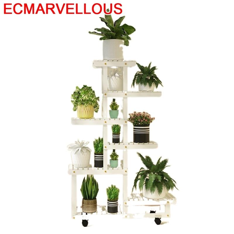 For Soporte Plantas Interior Rak Bunga Table Indoor Living Room Outdoor Stojak Na Kwiaty Balcony Flower Shelf Plant Stand