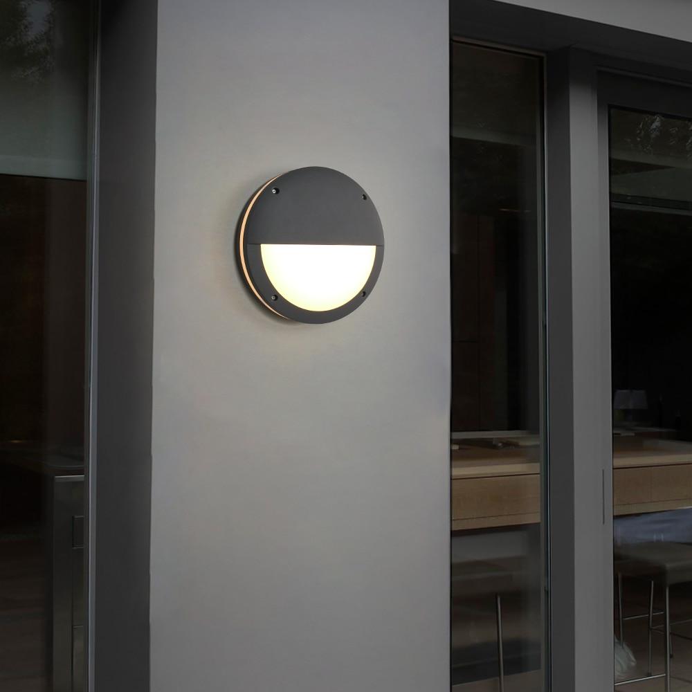 Dimmable 30 Led Outdoor Wall Light Motion Sensor Aluminum Modern Pir Outdoor Wall Lamp Radar Sensor Led Porch Lights 15w Sytmhoe enlarge