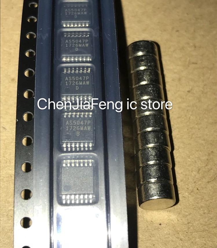 2PCS~10PCS/LOT  New original  AS5047P-ATSM  AS5047P  TSSOP14  Chips and magnets