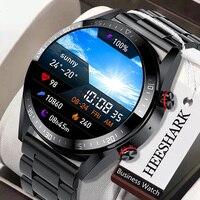 Умные часы с AMOLED-экраном 454*454, мужские Смарт-часы с поддержкой bluetooth, звонков и локальной музыки, наушники TWS на базе Android