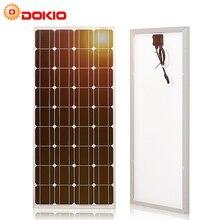 Carica impermeabile 12V # DSP-100M del pannello solare del silicio monocristallino della cina 18V del pannello solare di Dokio 18V 100W