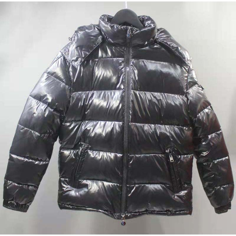 Good Quality Winter Mens Womens Mayars Down Jackets Thicker Outerdoor Coat Grey Lining Windproof Star 90%White Duck Down Outwear