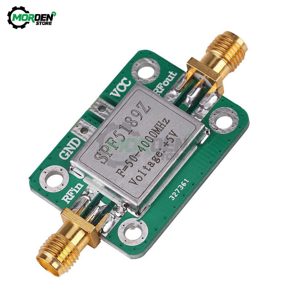 Фото - SPF5189 with Shielding Shell RF Signal Receiver Low Noise Wideband Radio Frequency LAN 50-4000MHz NF=0.6dB Amplifier Module pascal pagani ultra wideband radio propagation channels