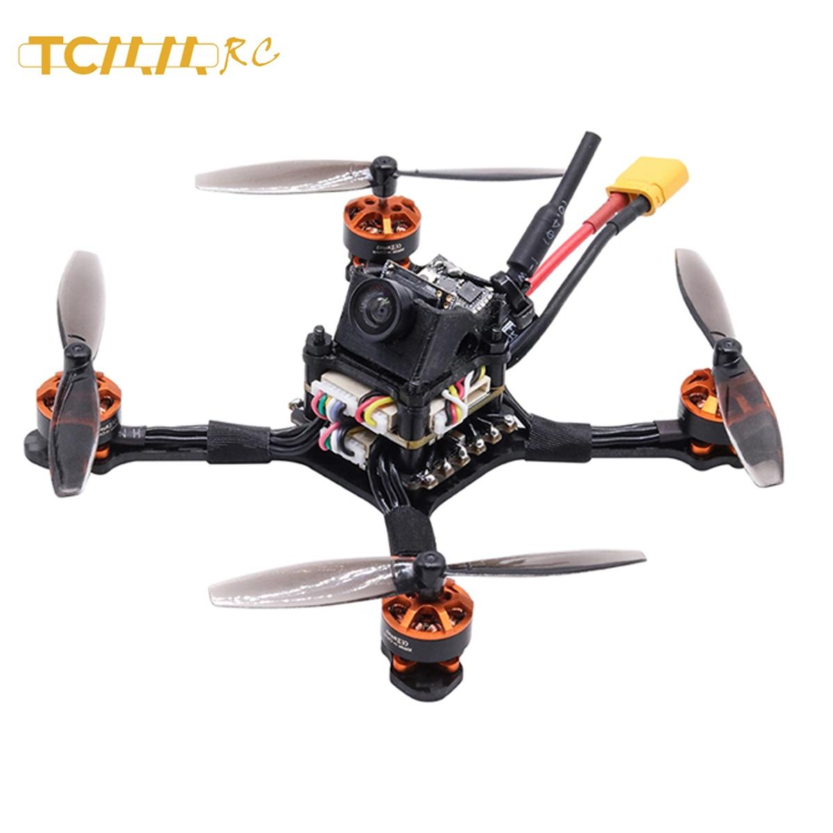 Tcmm rc 2.5 Inch Fpv Racing Drone 1104 motor 8600kv Carbon fiber high-thrust racing drone 1200TVL Camera Rc Helikopters