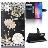 for xiaomi mi cc9 cc 9 se 8 car magnetic ring leather case for mi8 mi9 lite 6x a2 cc9e cc 9e redmi 5 plus 8a note 5 7 8 10 pro