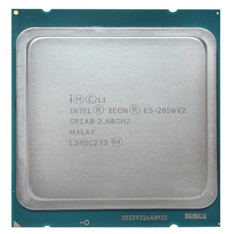 Процессор Intel Xeon E5 2650V2 E5-2650 v2 cpu 2,6 ГГц/20 Мб/22 нм/95 Вт/Socket LGA 2011 cpu