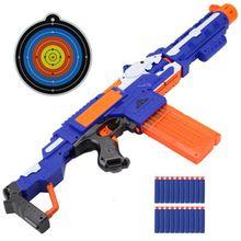 Pistolet jouet pour Nerf fléchettes doux trou creux tête balles 7.2cm recharge fléchettes jouet balles mousse sûr ventouse balle pour Nerf garçons jouets
