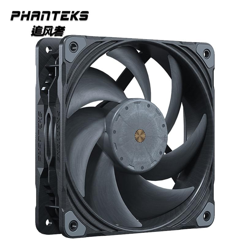 PHANTEKS T30 الصناعية الصف ارتفاع ضغط 12 سنتيمتر PWM المياه الهواء مروحة التبريد ، المزدوج Vapo تحمل ، 120X120X30MM قوية برودة ماستر