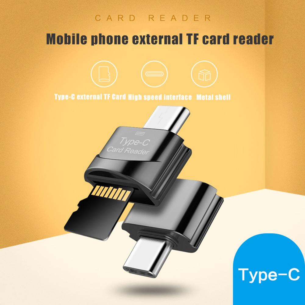 Новый USB 3,0 Type C к Micro-SD TF адаптер OTG кардридер мини кардридер смарт-кард-ридер для ноутбука Samsung Huawei
