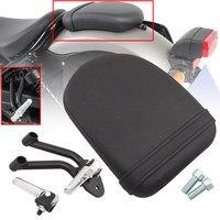 Metal Steel Rear Passenger Foot Peg Bracket Footpeg Footrest Support Leather Seat For Honda Rebel CMX 300 500 Motorbikes 17-18