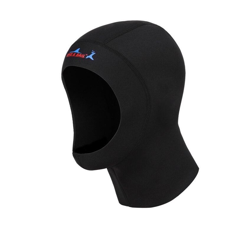 High Quality 3mm Neoprene Scuba Diving Cap With Shoulder Snorkeling Equipment Hat Hood Neck Cover Winter Swim Warm Cap