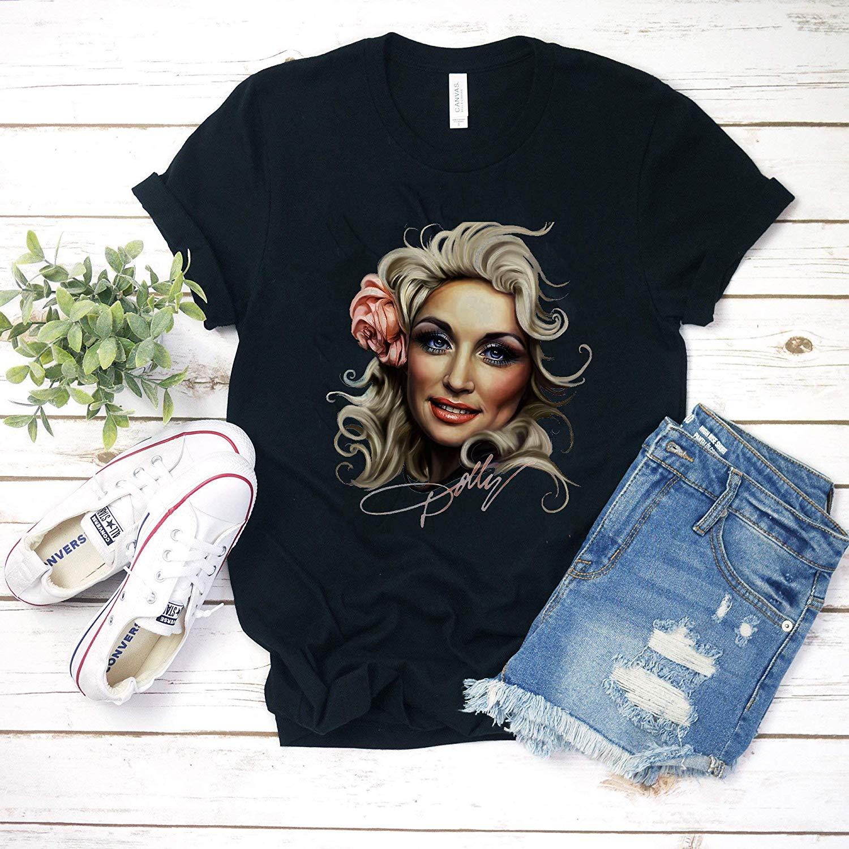 Dolly parton tour 2017 regalo para hombres mujeres unisex hombres mujeres camiseta