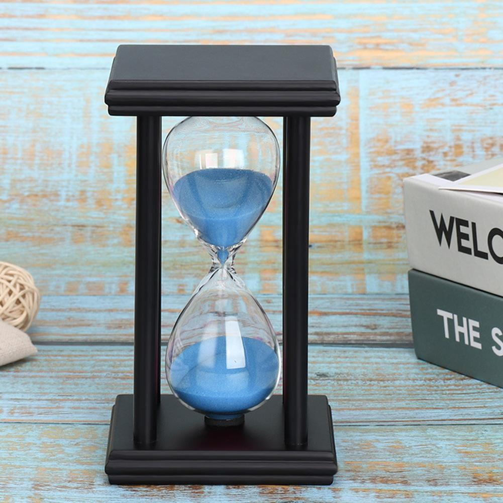 5/15/30min Wooden Sand Clock Sandglass Kitchen School Hourglass Timer Home Decor Kids Educational Toy For Office Home Decoration недорого