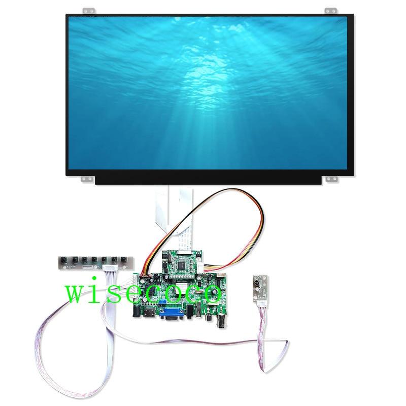 15.6 inch 1920*1080 IPS LCD screen HDMI VGA Driver Board for Raspberry Pi 3 laptop display lcd N156HGA-EAB