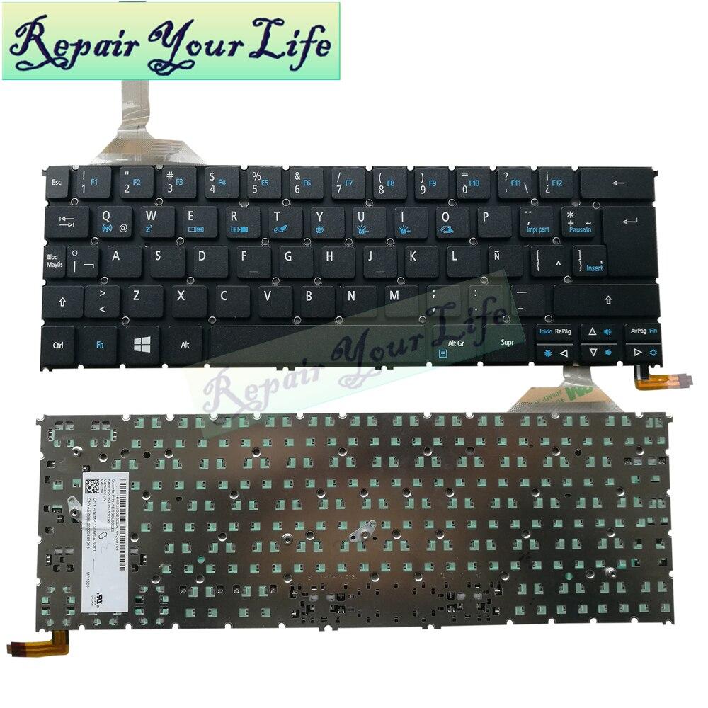 محمول LA اللاتينية ل أيسر R7-371 S3-392 R13 R7-371T MP-13C66LAJ9201 AEZS8L00020 NKI1213026 الخلفية الأسود السعر المنخفض
