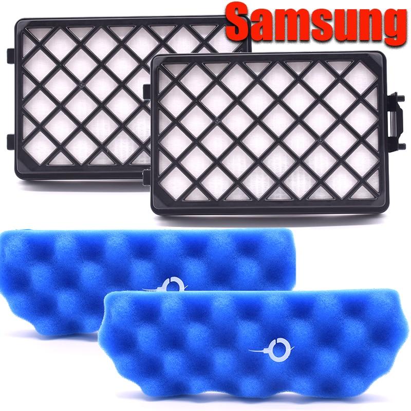 Accesorios de aspiradora piezas filtros de polvo HEPA H13 Samsung DJ97-01670B Assy filtro de salida para Samsung sc8810 SC8813. series