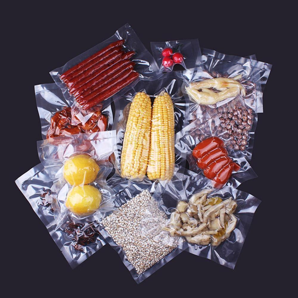 Вакуумная сумка, прозрачная термогерметичная сумка, сохраняющая свежую пищевую пленку, вакуумные пакеты для домашних животных/PE, прозрачна...
