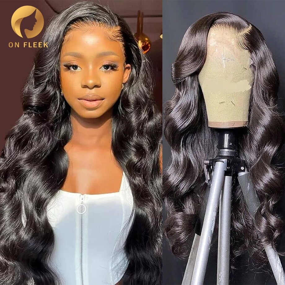30 Inch Body Wave Lace Front Wigs For Black Women Human Hair Brazilian Remy With Baby Hair 13x4 Hd Transparent Lace Frontal Wig