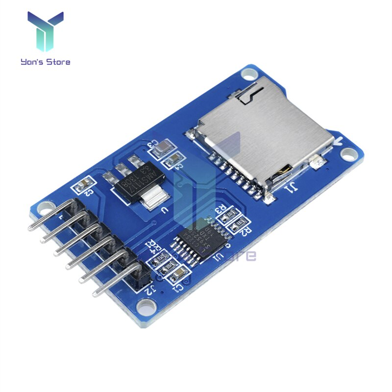 Фото - Карта памяти Micro SD, TF, карта памяти Micro SD, плата расширения SPI интерфейсы для Arduino, чтение и запись файлов карта расширения panasonic kx ns5134x sd тип xs sd xs