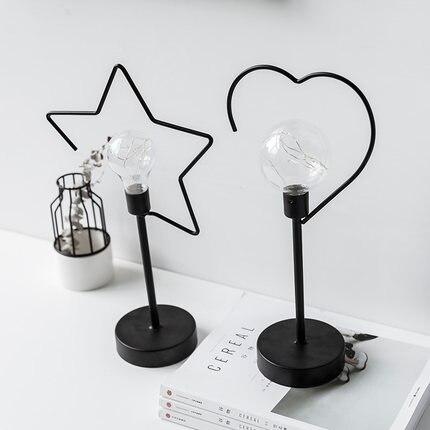 Декор для домашнего стола Ins, Ночной светильник, украшение для спальни, кабинета, ТВ-кабинета, украшение для гостиной