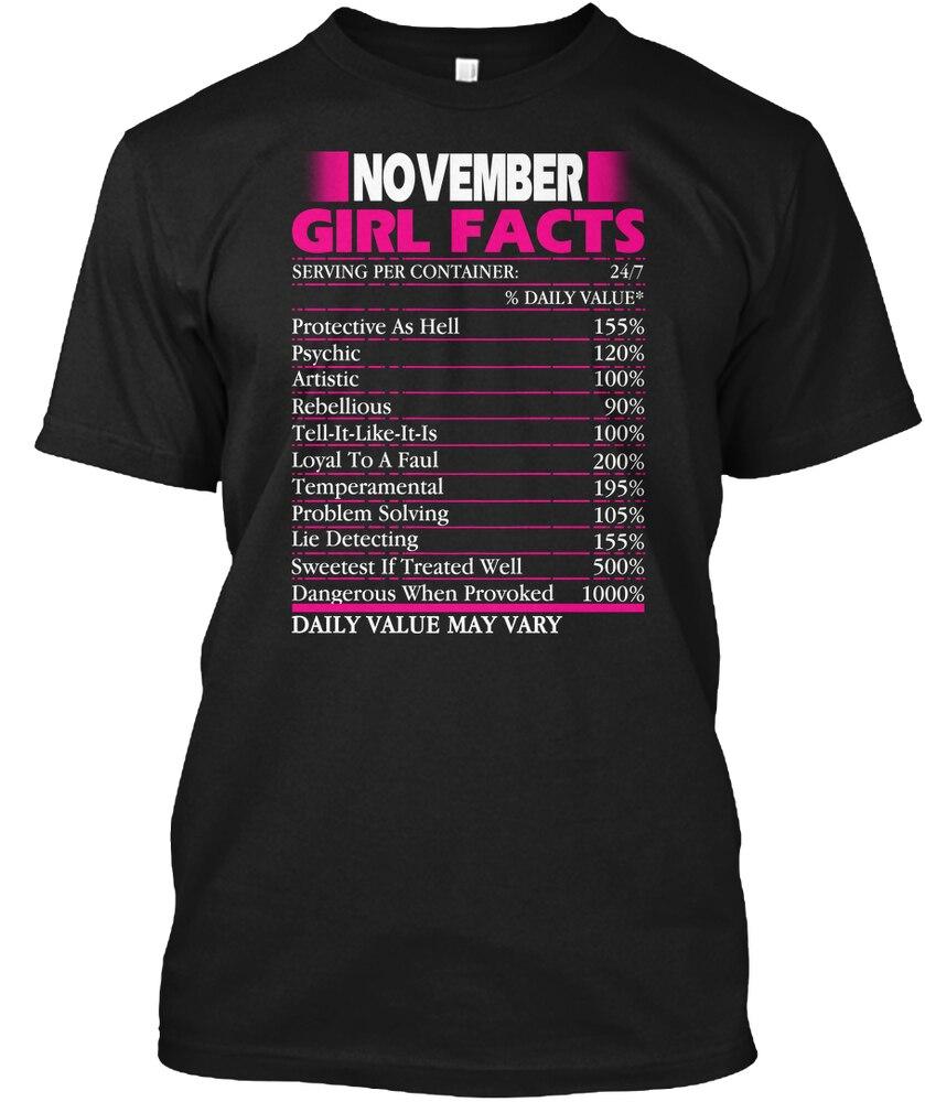 Camiseta de hombre para mujer cumpleaños de noviembre