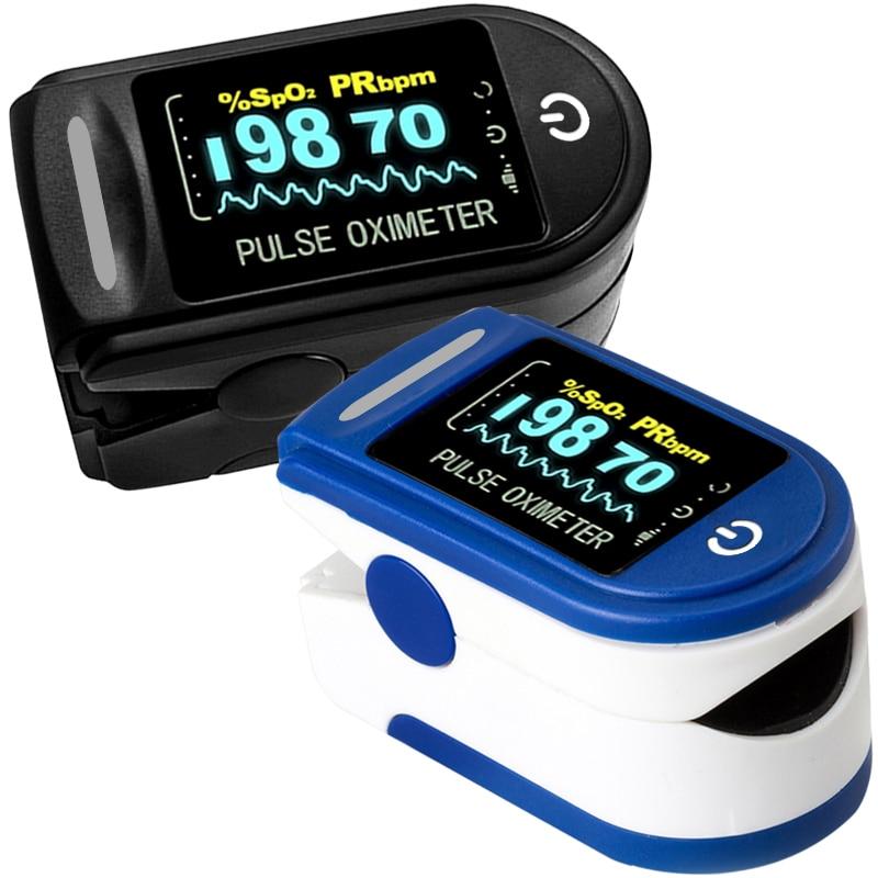 Medical Household Digital Fingertip Pulse Oximeter Blood Oxygen Saturation Meter Finger OLED SPO2 PR Monitor Health Care