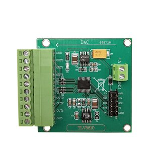 Eight-channel Serial DAC Module TLV5610/TLV5608/TLV5629 Digital to Analog Conversion with Program