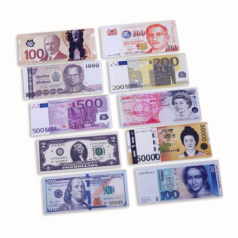 Nova alta qualidy novidade unissex moeda padrão libra dólar euro bolsa carteiras do homem bolso fino clipes de dinheiro